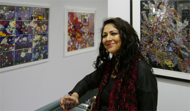 Chila Kumari Burman at the preview