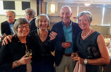 Thumbnail image of Gill Barradell, Kate Ruse, Trevor Bent, Lilian Kershaw - Douglas Smith Commemorative Dinner