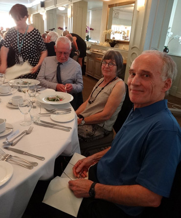 Thumbnail image of John Barradell, Gill Barradell, Christopher Bent - Douglas Smith Commemorative Dinner