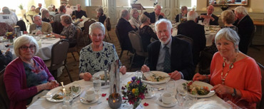 Thumbnail image of Brenda Brailsford, Shirley Easton, David Easton, Sue Sansome - Douglas Smith Commemorative Dinner