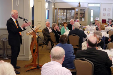 Thumbnail image of Alan Oliver speaking after dinner - Douglas Smith Commemorative Dinner