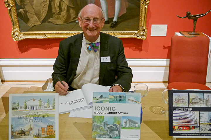 Photograph of Douglas Smith at book launch