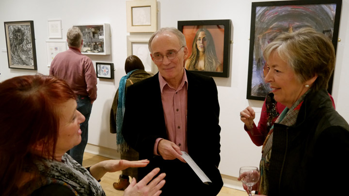Chair Christopher Bent at the preview