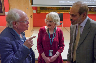 Photograph of Michale Attenborough, Sarah Levitt and Cllr Piara Singh Clair