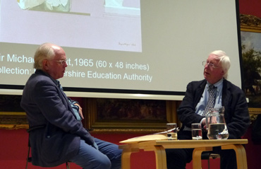 Thumbnail image of Michael Attenborough & Bryan Organ - A Conversation With Bryan Organ - Photographs Of The Evening