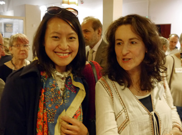Thumbnail image of Siyuan Ren and LSC President Emma Fitzpatrick - A Conversation With Bryan Organ - Photographs Of The Evening