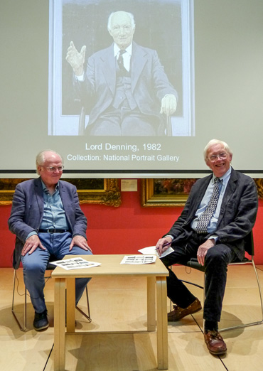 Thumbnail image of Michael Attenborough and Bryan Organ - A Conversation With Bryan Organ - Photographs Of The Evening