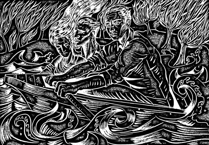 Print by George Sfougaras