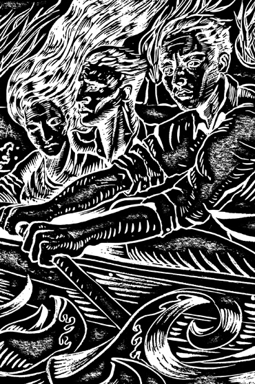 George Sfougaras - print (detail)