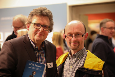 Thumbnail image of Lars Tharp with David Hallows (Gateway College teacher) - Little Selves - Preview Photographs