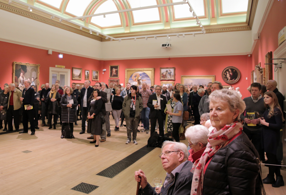 Thumbnail image of Preview at New Walk Museum and Art Gallery in the Victorian Gallery - LSA Annual Exhibition 2017 Preview Evening
