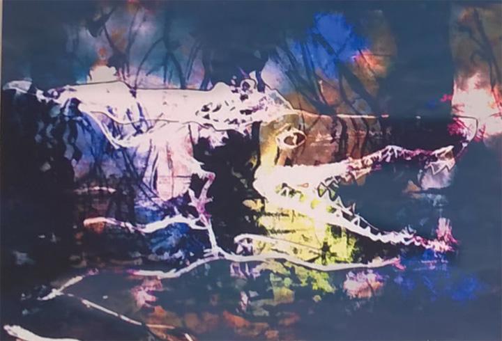 Painting by Pauline Cozaczuk