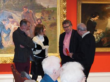 Thumbnail image of Mark Hancock, Suzanne Harry, Lars Tharp and John Nixon - Lars Tharp LSA Lecture 2017