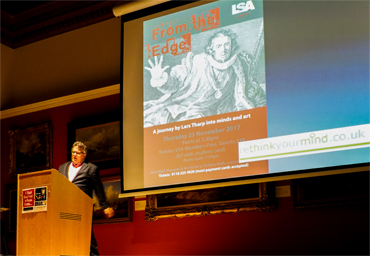 Thumbnail image of Lars Tharp giving 'From the Edge' LSA Annual Lecture - Lars Tharp LSA Lecture 2017