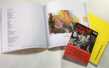Thumbnail image of Rethink Your Mind - the Yellow Book, with 'From the Edge' lecture ticket - Lars Tharp LSA Lecture 2017