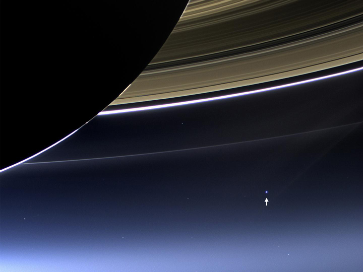 Cassini mission photograph