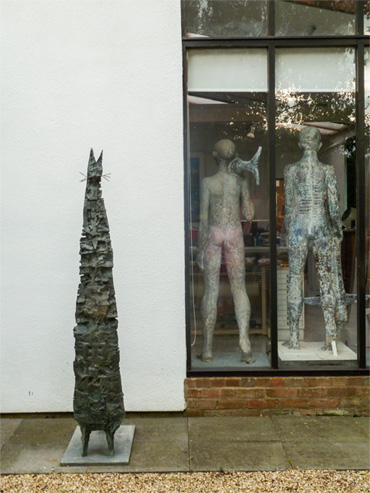 Thumbnail image of John Sydney Carter studio with sculpture - We Explore The Studio Of John Sydney Carter
