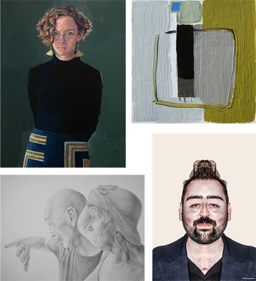 4 prize-winners works at the Open exhibition