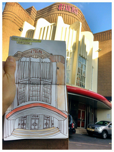 Thumbnail image of Austin Orwin - Let's Draw The Cultural Quarter - Leicester's 2nd Urban Sketching Success
