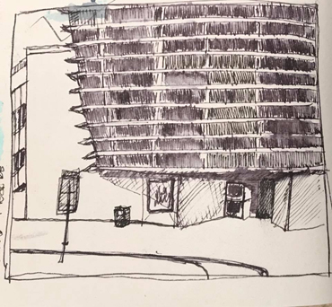Thumbnail image of <strong></strong>Daryl Tebbutt - Let&#039;s Draw The Cultural Quarter - Leicester&#039;s 2nd Urban Sketching Success