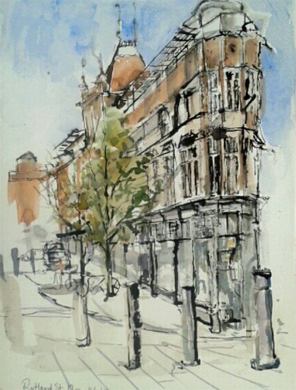 Thumbnail image of Rita Sadler - Let's Draw The Cultural Quarter - Leicester's 2nd Urban Sketching Success