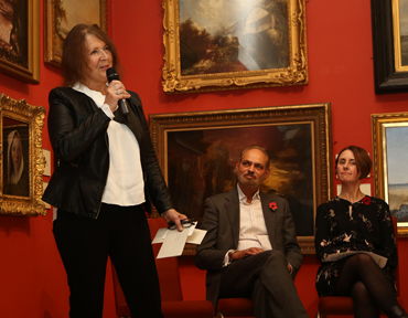 Thumbnail image of LSA Chair Suzanne Harry announces the LSA Chair's Award - LSA Annual Exhibition 2018 Preview Evening