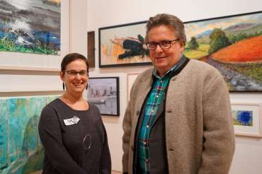 Thumbnail image of Ruth Singer and Lars Tharp - LSA Annual Exhibition - Preview Evening