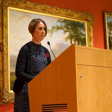 Thumbnail image of Head of Museum Services Jo Jones - LSA Annual Exhibition - Preview Evening