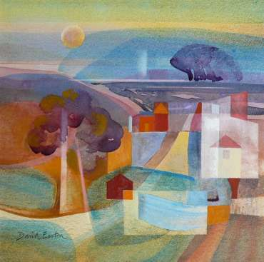 Thumbnail image of David Easton, 'Landforms, Evening' - Remembering David Easton RI