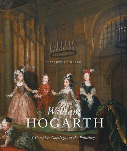 Cover of Elizabeth Einberg's Catalogue of the paintings of William Hogarth