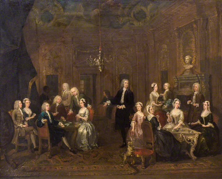 Hogarth's The Wollaston Family