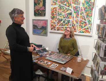 Thumbnail image of Vivienne Cawson and Danielle Vaughan - Meet the LSA Artists at New Walk Museum!