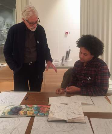 Thumbnail image of Robert Hewson and Jarvis Brookfield - Meet the LSA Artists at New Walk Museum!