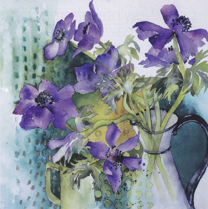 watercolour painting by Vivienne Cawson