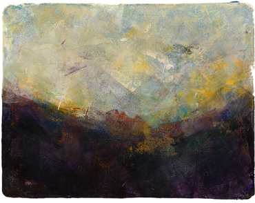 Sue Clegg, 'Cumbria 8', monoprint